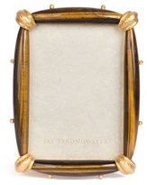 """Jay Strongwater Angelo Tiger Eye Frame, 5"""" x 7"""""""