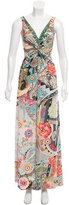 Blumarine Printed Maxi Dress