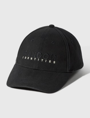Random Identities Embroidered Logo Cap