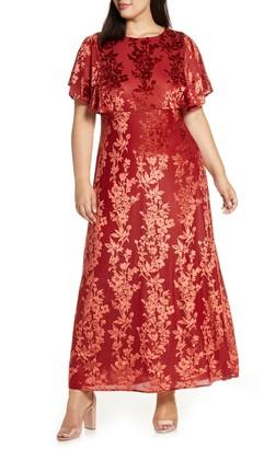 Kiyonna Parisian Dream Maxi Dress