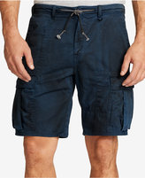 William Rast Men's Drawstring Cargo Shorts