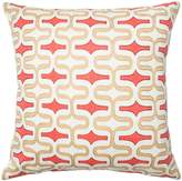 Loloi PSETP0220SAREPIL3 Poly Set 100% Cotton Dobby Cover with Poly Fill Decorative Accent Pillow