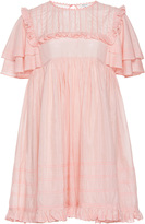 Manoush Ruffle Sleeve Babydoll Dress