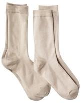 Merona Women's Rayon Crew Socks 2-Pack