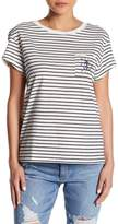 RVCA Sea Pocket Striped Tee