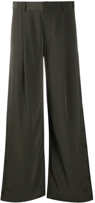 Co Flared Style Trousers