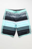 "O'Neill Hyperfreak Heist Scallop Striped 20"" Boardshorts"