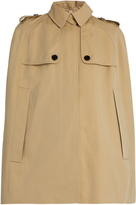 Burberry Wolseley cotton-gabardine cape