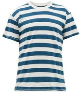 Jeanerica Jeans & Co. - Striped Organic Cotton-jersey T-shirt - Mens - Navy White