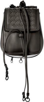 Bottega Veneta Intrecciato Nappa Leather Shoulder Bag