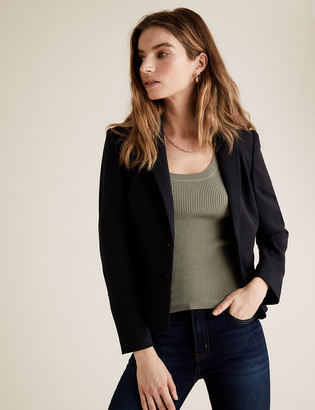 Marks and Spencer PETITE Tailored Short Jacket