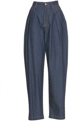 Dolce & Gabbana Denim Balloon Pants