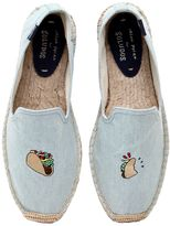 Soludos Taco Embroidered Cotton Espadrilles