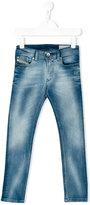 Diesel Sleenker jeans - kids - Cotton/Polyester/Spandex/Elastane - 2 yrs