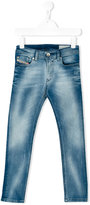 Diesel Sleenker jeans - kids - Cotton/Polyester/Spandex/Elastane - 4 yrs