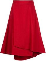 ESTNATION flared wrap skirt