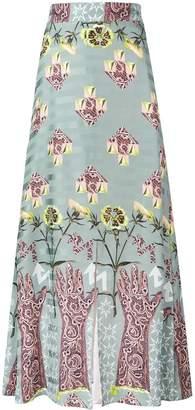 Temperley London Flux midi skirt