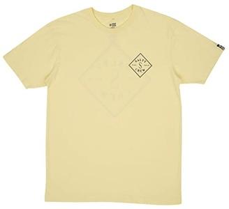 Salty Crew Tippet Short Sleeve Tee (Banana) Men's T Shirt