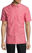 Haggar Button-Front Shirt