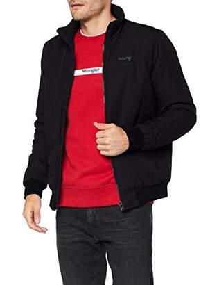 Wrangler Men's Bomber Jacket, Black 100