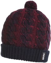 Muk Luks 2-Tone Cable Pompom Beanie (For Women)