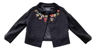 Moschino Black Tweed Jackets