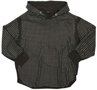 Diesel Oversize Embellished Sweatshirt Hoodie