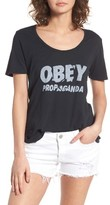 Obey Women's Ray Jumble Graphic Tee
