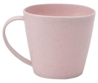 Unique Bargains Home Office Water Coffee Tea Juice Drinking Cup Mug Pink 250ml