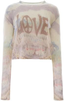 Amiri Tie-dye Love Sweater