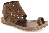 Pedro Garcia Women's Perforated Ankle Cuff Sandal