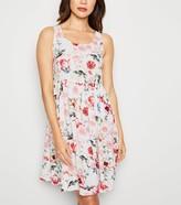 New Look JDY Floral Skater Dress