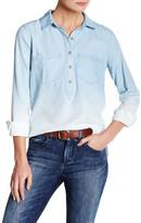 Jessica Simpson Poppy Ombre Chambray Shirt