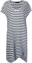 Bassike stripe T-shirt dress - women - Cotton - XS