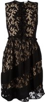 Sonia Rykiel lace overlay dress - women - Silk/Polyamide/Acetate/Viscose - 38
