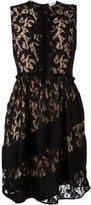 Sonia Rykiel lace overlay dress