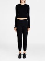 DKNY Cropped Pullover