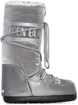 Moon Boot Glance metallic snow boots