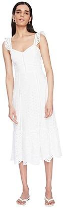 Parker Genevieve Dress (Ivory) Women's Clothing