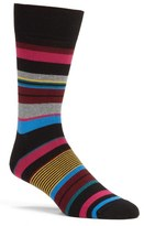 Bugatchi 'Wide Stripe' Socks
