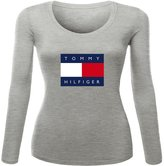 New Fashion Tommy Hilfiger Printed long sleeve Tops T shirts New Fashion Tommy Hilfiger Printed For Ladies Womens Long Sleeves Tops