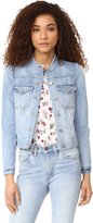 Rebecca Taylor Soft Stretch Denim Jacket
