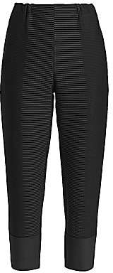Issey Miyake Women's Random Ripple Cropped Pants