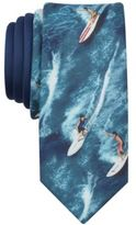 Original Penguin Men's Surfer Print Skinny Tie