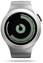 Ziiiro Z0008WS Saturn Chrome Mens Digital Men's Watch by