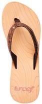 Reef Bronze Snake Reefwood Wedge Thong