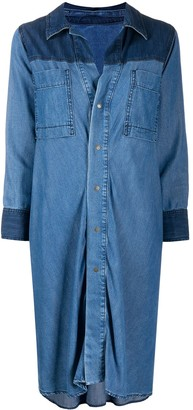 Diesel Tie-Waist Denim Shirt-Dress