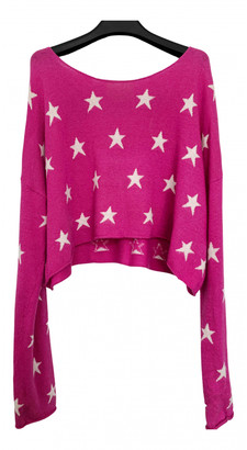 Wildfox Couture Pink Rabbit Knitwear