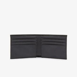 Lacoste Men's Classic Petit Pique Six Card Wallet