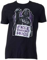 Mighty Fine Star Wars Darth Vader Free Throat Hugs Men's Shirt